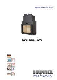 Kamin-Kessel 62/76 made in germany - IMPORCHAMA