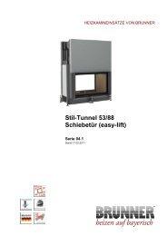 Stil-Tunnel 53/88 Schiebetür (easy-lift) - IMPORCHAMA