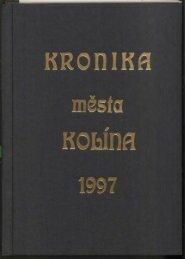 Kronika 1997 Barevné provedení (14,8 MB) - Kolín
