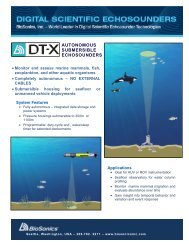 DT-X SUB (pdf) - BioSonics, Inc