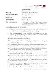 JOB DESCRIPTION JOB TITLE Fundraising Officer – Individual ...