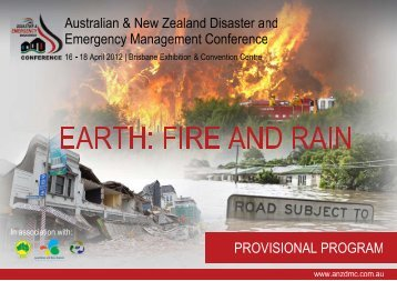 Untitled - Australian and New Zealand Disaster Management ...