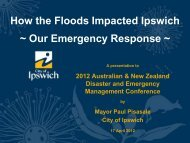 How the Floods Impacted Ipswich - Australian and New Zealand ...