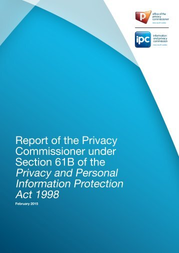 20150212_Privacy Commissioners Report_FINAL_low-res