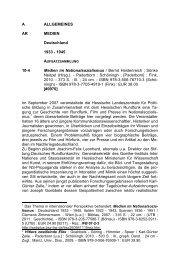 1945 10-4 Medien im Nationalsozialismus / Bernd Heidenreich