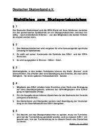 Sportabzeichen - Deutscher Skatverband e.V.