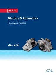 Starters & Alternators - Denso-am.eu