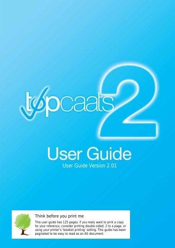 User Guide Version 2.01