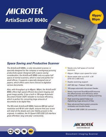 Brochure asdi8040_f - Te-printline.de