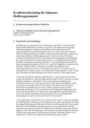 Kvalitetsredovisning (pdf 106kb) - Folkuniversitetet