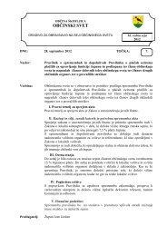 7.Pravilnik o spremembah in dopolnitvah ... - Občina Škofljica