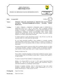 Sklep o izdaji mnenja ravnatelju(ci) VVZ Vrtec ... - Občina Škofljica