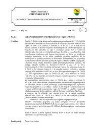 Sklep o pridobitvi nepremičnine v k.o. Lanišče - Občina Škofljica