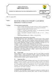 Pravilnik o oddajanju zemljišč v lasti Občine ... - Občina Škofljica