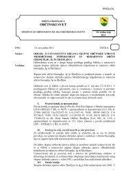 Odlok o ustanovitvi organa skupne občinske uprave - Občina Škofljica