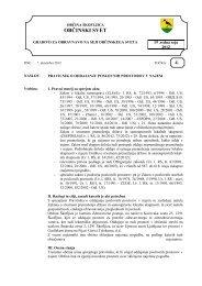 Pravilnik o oddajanju poslovnih prostorov v lasti ... - Občina Škofljica