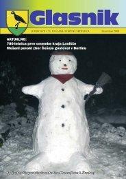 Glasnik december 2008 - Občina Škofljica