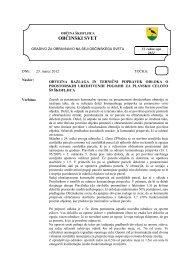 Obvezna razlaga in tehnični popravek Odloka o ... - Občina Škofljica