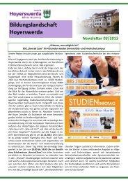 Newsletter 03/2013 - Kommunale Koordinierung