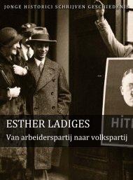 Esther Ladiges (pdf) - Jonge Historici Schrijven Geschiedenis