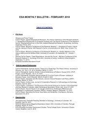 esa monthly bulletin – february 2010