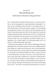 HITLERS RUSSLAND Ambivalenzen im deutschen ... - Gerd Koenen