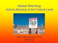 Global Warming - Alaska Native Science Commission