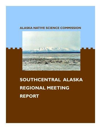 SC Report.pub - Alaska Native Science Commission