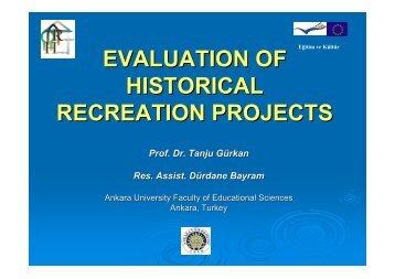Evaluation of Teacher Training