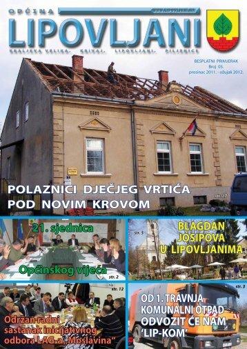 Bilten 05 - Općina Lipovljani