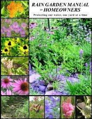 Rain Garden Manual Now!!! - The Firelands Coastal Tributaries