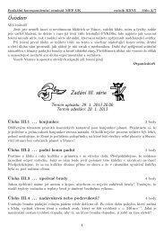 FYKOS, XXVI. ročník, 3. číslo