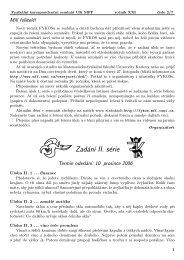 Zadání II. série - Fykos