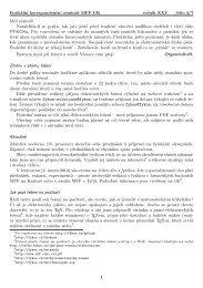 FYKOS, XXV. ročník, 3. číslo