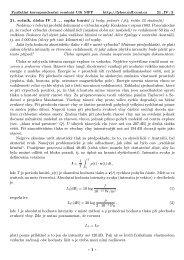 21. ročník, úloha IV . 3 ... sopka burácí (4 body; průměr 1,64 ... - Fykos