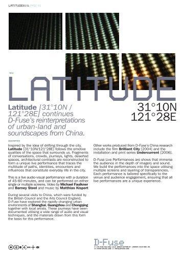 Latitude - D-Fuse