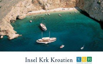 Broschüre der Insel Krk