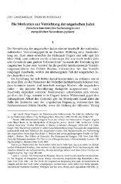 Die Motivation zur Vernichtung der ungarischen Juden ... - EPA