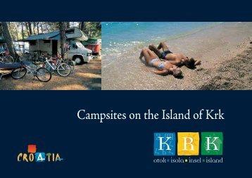 Campsites on the Island of Krk