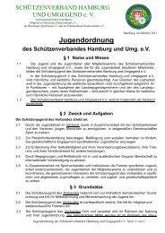 Jugendordnung des Schützenverbandes Hamburg und Umg. eV § 1 ...