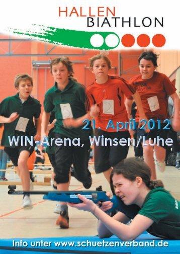 2. Winsener Hallenbiathlon am 21.4.2012: Es darf angemeldet werden