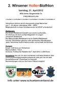 2. Winsener Hallenbiathlon am 21.4.2012: Es darf angemeldet werden - Seite 2