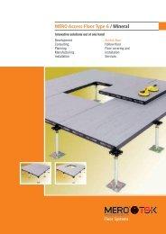 MERO Access Floor Type 6 / Mineral