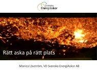 Rätt askor på rätt plats - Svenska EnergiAskor AB