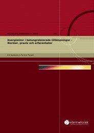 Normer, praxis och erfarenheter - Svenska EnergiAskor AB