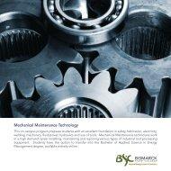 Mechanical Maintenance Technology - Bismarck State College