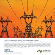 Electrical Transmission Systems Technology Degree Program