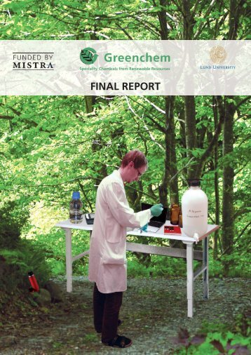 Greenchem FINAL REPORT