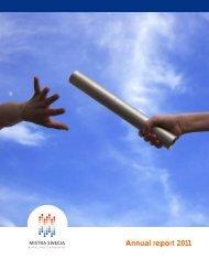 Mistra SWECIA Annual Report 2011 (2.5 MB, pdf)