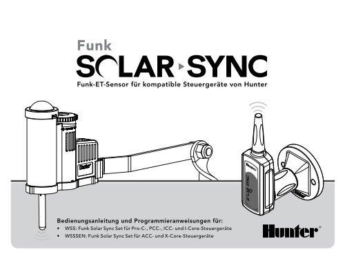 Funk-ET-Sensor für kompatible Steuergeräte von ... - Hunter Industries